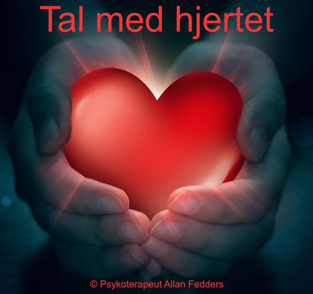 Tal med hjertet